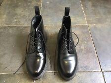 Dr Martens Emmeline Black Leather Boots Size UK 6 EUR 39
