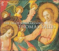 The Tallis Scholars Sing Thomas Tallis (CD, 2 Discs, Gimell)