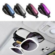 New Car Vehicle Accessory Sun Visor Sunglasses Eye Glasses Card Pen Holder Clip