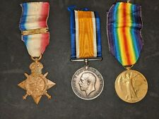 More details for 1914 star and bar trio to an essex regiment old contemptible who re-enlisted
