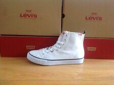 Levi Jeans High Canvass Men's Boots Uk 10 Eu 44 RRP £59.99