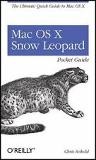 NEW - Mac OS X Snow Leopard Pocket Guide: The Ultimate Quick Guide to Mac OS X