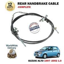 FOR SUZUKI ALTO 1.0 1.0i 1997-12/2002 NEW REAR HAND BRAKE CABLE COMPLETE