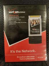 PC5750 Verizon Wireless Broadband Modem 3G CDMA PCMCIA Card - Lot of 2 + Case