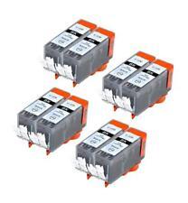 8 NON-OEM INK CARTRIDGE CANON PGI-220 PGI-220BK BLACK PIXMA MX870 MP640R MP620B