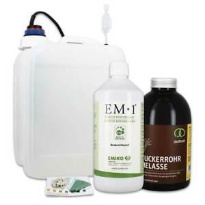 Fermenter-Einsteigerset mit 5 L Fermenter + Urlösung EM 1