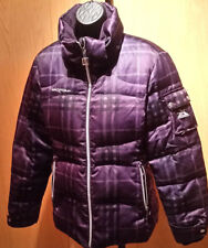 Zero Exposure Women's Winter Coat MED, PURPLE BLACK MISSING HOOD