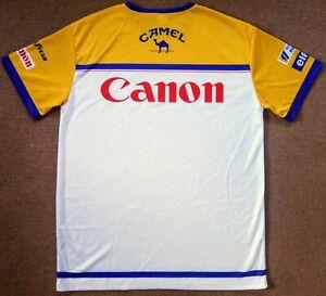 Williams Renault 1992 F1 Team Issue Nigel Mansell FW14 Champion Style Shirt Mens