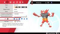 Pokemon Sword and Shield Square Shiny Incineroar 6IV HA | Pokemon Home | LEGIT |