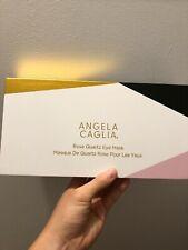 Angela Caglia Rose Quartz Eye Mask Nwb