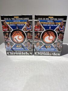 2019-20 Panini Chronicles Basketball Blaster Box Lot Of 2 Sealed *SAME DAY SHIP*