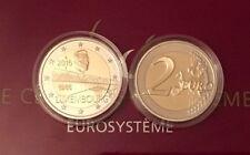 2 Euro Gedenkmünze Luxemburg Brücke Charlotte 2016 in PP Proof Auflage 1500