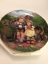 M.I. Hummel Country Crossroads Colletor Plates Little Companions by Danbury Mint