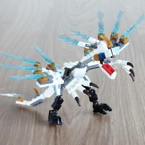 142pcs Fire Dragon Knight Model Building BlocksToys For Kids