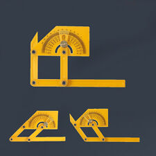 180° Angle Square Finder Protractor  Building Level Measure Ruler Carpenter Tool
