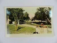Vintage Postcard 1940's City Park Kelowna B.C. Vancouver Canada
