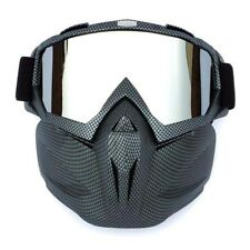Motorcycle Motocross Helmets Face Mask Detachable Goggles MX ATV Glasses Eyewear