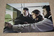CELYN JONES signed Autogramm In Person 20x28 cm THE COP - CRIME SCENE PARIS