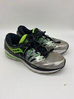 Saucony Hurricane Iso 2 Everun Shoes Mens Athletic Running Cross Training Sz 9.5