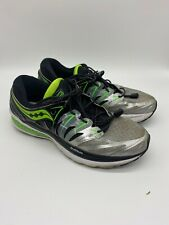 Saucony Hurricane Iso 2 Everun Shoes Mens Athletic Running Cross Training Sz 9.5