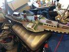 radio controlled boat paddle steamer hand build one of a kind