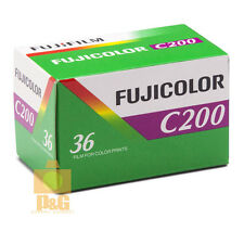 Fujifilm Fujicolor C200 35mm Color Print Film 36 Exp Fuji 1Rolls / 07-2018