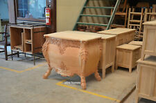 1 x BESPOKE Designer Handcrafted Mahogany French style 100cm Chest of Drawers