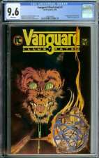 VANGUARD ILLUSTRATED #7 CGC 9.6 WHITE PAGES // 1ST APPEARANCE MR. MONSTER 1984