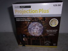 LED Lights Show Projection- Star of Bethlehem + Silhouette - 6 Christmas Scenes