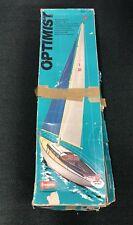 VINTAGE GRAUPNER OPTIMIST 2133 RC MODEL BOAT SAILBOAT KIT in BOX