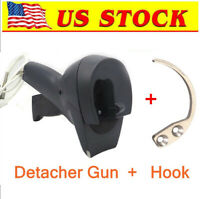 Hook Key & AM58Khz Super Security Manual Handheld Gun for EAS hard Tag US Stock