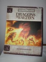 DRAGONS OF FAERUN DUNGEONS & DRAGONS FORGOTTEN REALMS Boyd & Bernstein 1st NEW