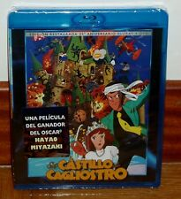 EL CASTILLO DE CAGLIOSTRO-COMBO BLU-RAY+DVD-NUEVO-NEW-EDICION RESTAURADA-MANGA
