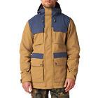 BURTON GoreTex WATERPROOF & INSULATED Ski SNOW BOARD Winter JACKET Coat MEN size