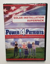 Power 4 Patriots DVD Wind Power System Energy Independence Solar Energy