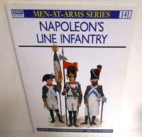 BOOK Osprey Men-at-Arms MAA #141 Napoleon's Line Infantry op 1997 Edition