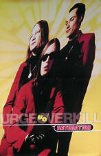 Urge Overkill 1993 Saturation Original Promo Poster