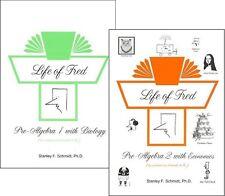 Life of Fred SET -- Pre-algebra 1 with Biology & Pre-algebra 2 with Economics