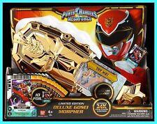 2013 SDCC BANDAI POWER RANGERS Megaforce Deluxe GOSEI MORPHER 300 MADE! 24K Gold