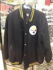 BRAND NEW Vintage Pittsburg Steelers Letterman' Jacket **RARE**