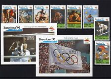 Sierra Leone  1505 - 16 , Bl. 137-38  ** - Olympiade - Bacelona 92 ( 22514-o1 )
