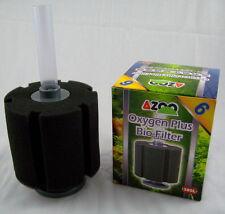 Aquarium Sponge Filter 110 Gallons AZOO #6  Fish Tank Biochemical Bio Air Pump