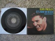 Elvis Presley 45rpm record & Sleeve,  It's Now Or Never