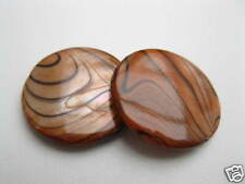 Scheiben Perlen 20mm petrolgrün 4046 2 Perlmutt