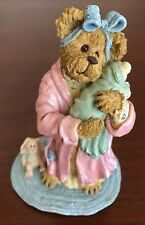 Boyds Bears, Mommy Bearhugs with Baby Bundles.Late Night Comfort, 1st Ed., Nib