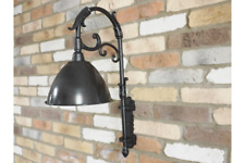 Industrial style wall lamp - no wiring