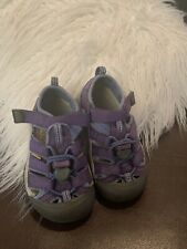 Keen Newport H2 Water Shoes Sandals Toddler Size 9 Purple