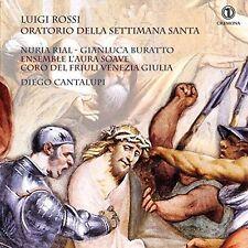 Luigi Rossi: Oratorio della Settimana Santa [New CD]