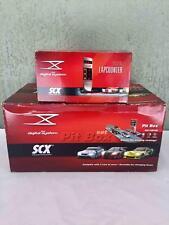 RARE Lot SCX Pit Box Set 1:32 Scale Racing System & Digital Lapcounter Complete