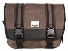 Jeep Laptop Messenger Unisex School College Journey Courier Shoulder Bag Brown